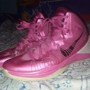 Nike Hyperdunks Breast Cancer Awareness